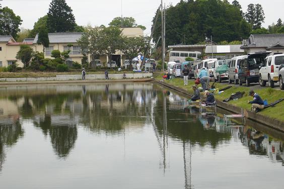 釣り大会粟原釣り場